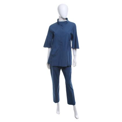 Jil Sander Blouse et un pantalon en bleu