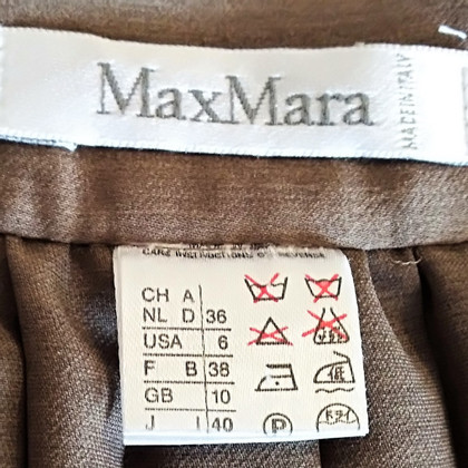 Max Mara Langer Faltenrock
