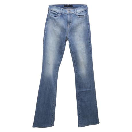 J Brand Jeans im Used-Look Blau