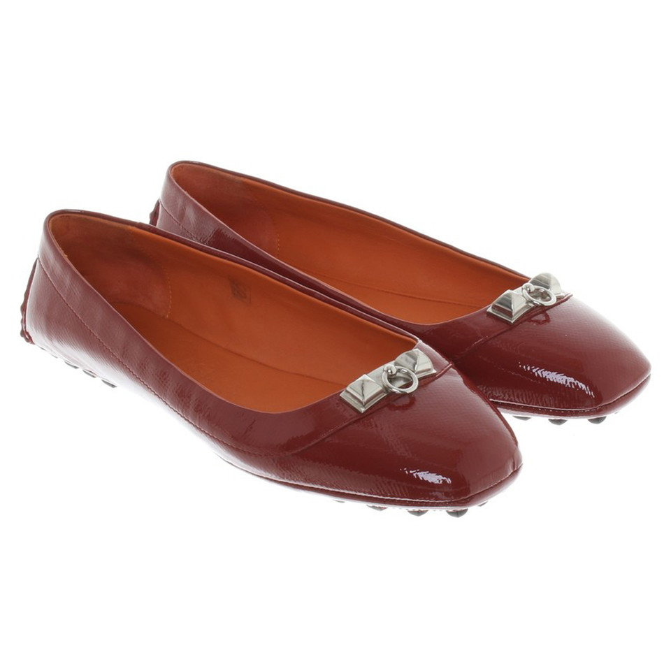 Hermès Ballerinas made of patent leather