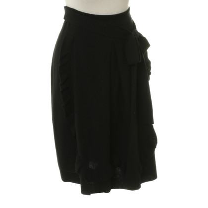 Sonia Rykiel Knit skirt in black