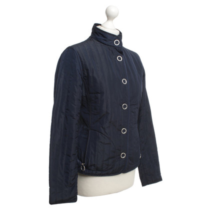 Escada Steppjacke in Dunkelblau