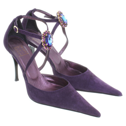 Other Designer Strategia - Pumps with decorative brooch