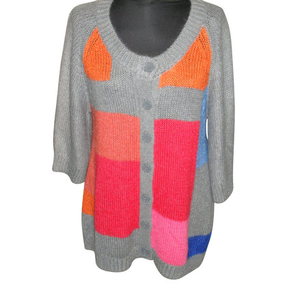 By Malene Birger Cardigan with color blocking