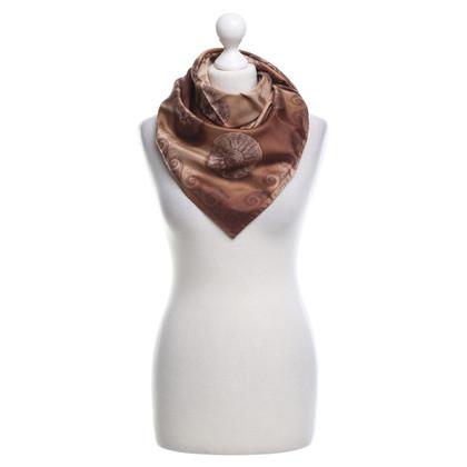 Prada Sciarpa di seta con stampa