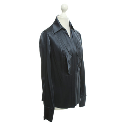 Diane von Furstenberg Silk blouse in blue