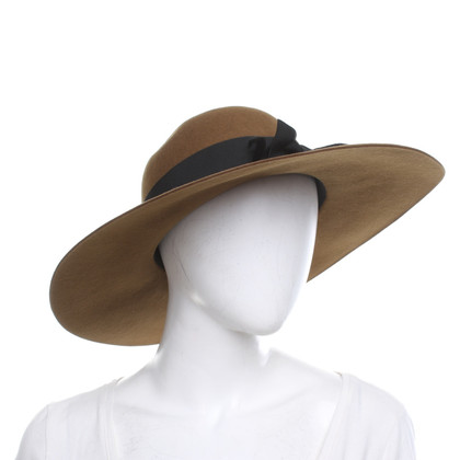 Saint Laurent Hat in ocher