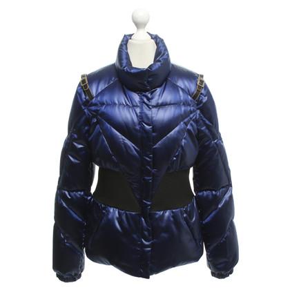 Versace Piumino in viola-blu