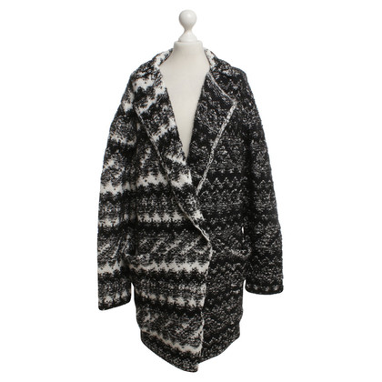 Lala Berlin Cardigan in black / white