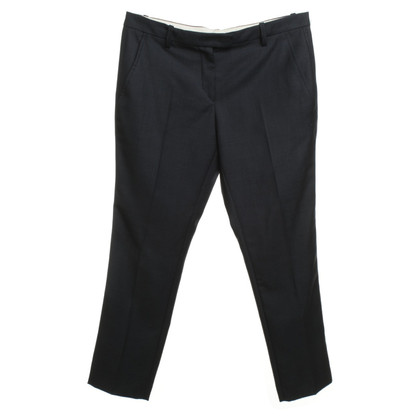 Isabel Marant Wool trousers in dark blue
