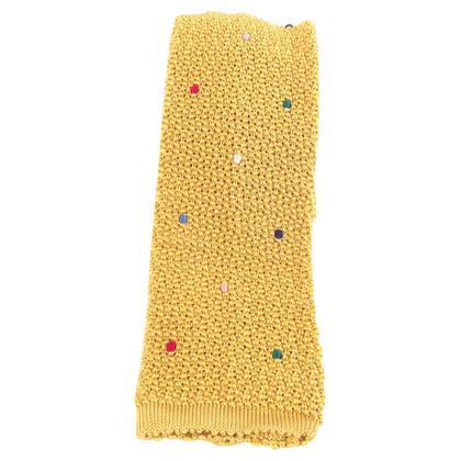 Hermès Cravatta in seta lavorato a maglia