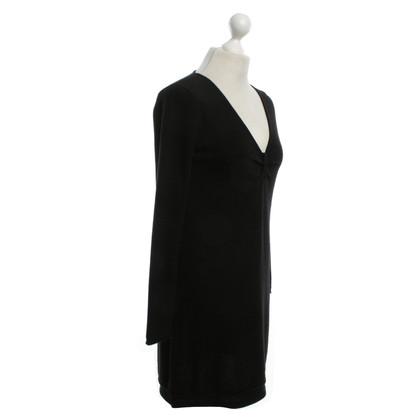 Bloom vestito maglia in nero