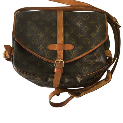 "Louis Vuitton ""Saumur 30 Monogram Canvas"""