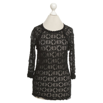 Isabel Marant Etoile Lace Top in zwart