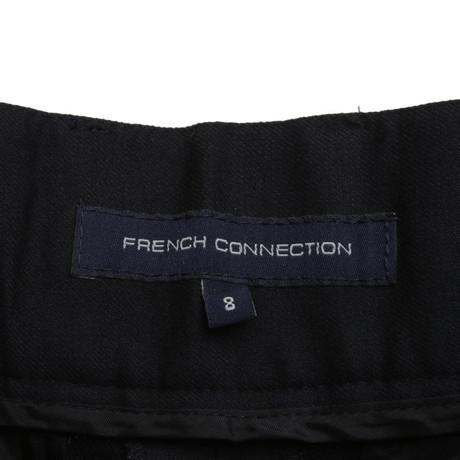 Ausgezeichnete Online French Connection Woll-Hose in Dunkelblau Blau Footaction Günstiger Preis bSDzz