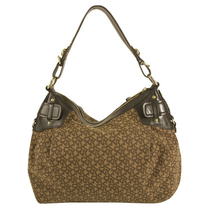 DKNY Brown Hobo