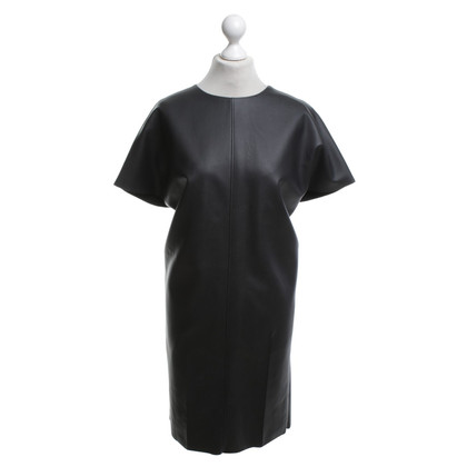 Cédric Charlier Purist dress made of imitation leather