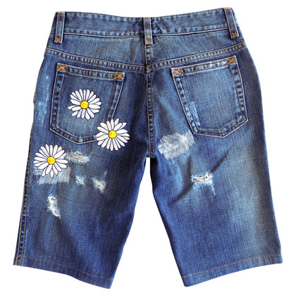 Dolce & Gabbana Shrt with daisy embroidery