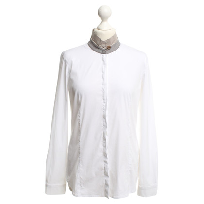 Fabiana Filippi Blouse with contrast collar