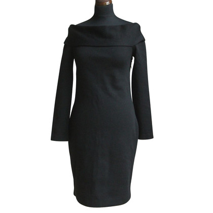 Emilio Pucci Little black wool dress