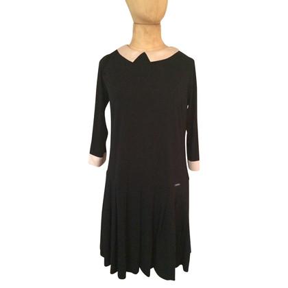 Twin-Set Simona Barbieri Kleid mit Bubikragen