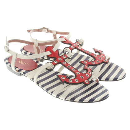 Red Valentino Sandals with anchor motif