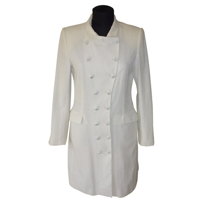 Ermanno Scervino Coat in het wit