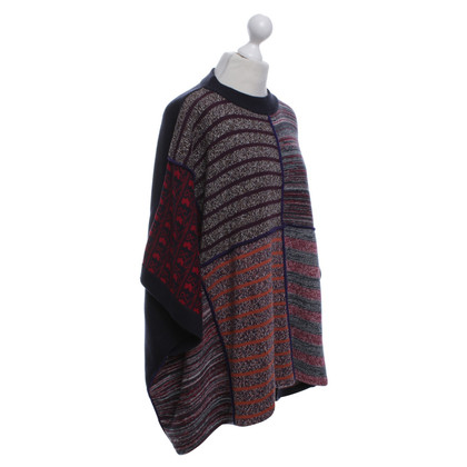 See by Chloé Patchwork poncho