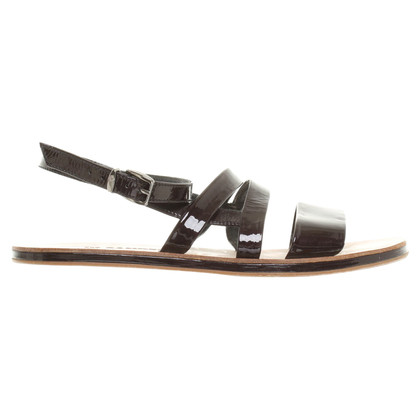 Jil Sander Sandal in patent leather