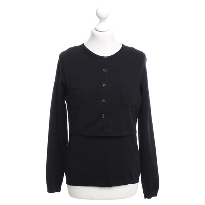 Moschino Cheap and Chic top in black