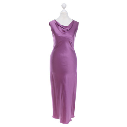 Turnover Dress in purple