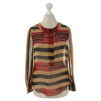 Diane von Furstenberg Blouse with stripe pattern