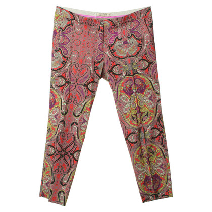 Etro Pants with Paisley pattern