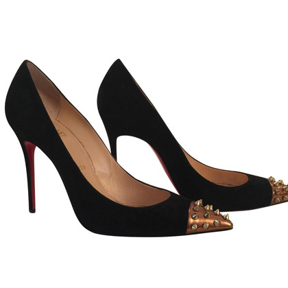 Christian Louboutin Black with studs