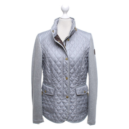 Windsor Gewatteerde jas met jersey gegevens