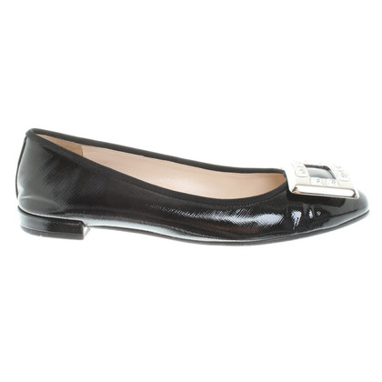 Prada Ballerinas in black