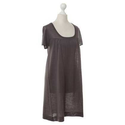 American Vintage Wool Dress in Eggplant