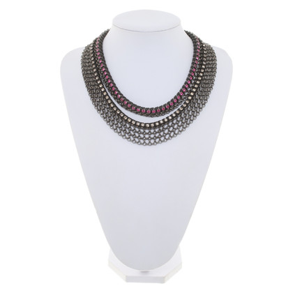Mawi Statement necklace with gemstones