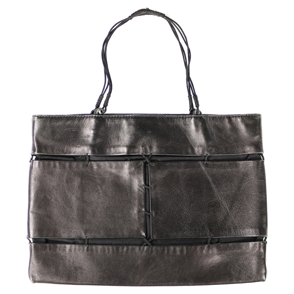 prada tasche in leder stoff kombination second hand prada tasche in leder stoff kombination. Black Bedroom Furniture Sets. Home Design Ideas