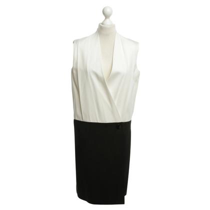 Céline Kleid in Schwarz/Weiß