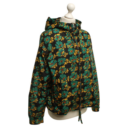 Prada Raincoat with floral print