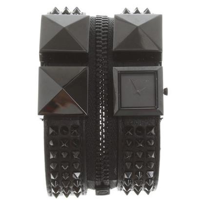 Karl Lagerfeld Armbanduhr mit Nieten