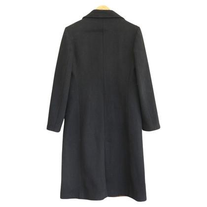 D&G Cappotto doppio petto in nero