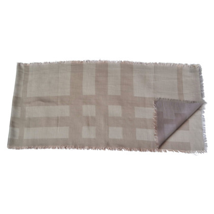 Burberry Scarf with check pattern