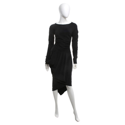Andere merken High-tech jurk met drapering