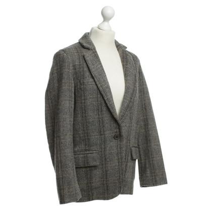Isabel Marant Etoile Grey Tweed Blazer