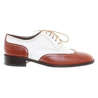 Fratelli Rossetti Lace-up shoes in brown / white