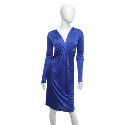 Diane von Furstenberg Jersey-jurk in koningsblauw