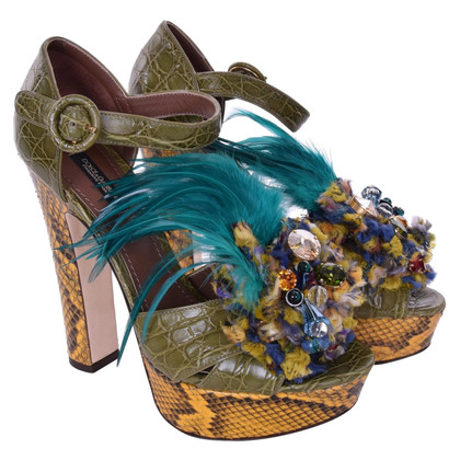 Dolce & Gabbana Sandals in Multicolor