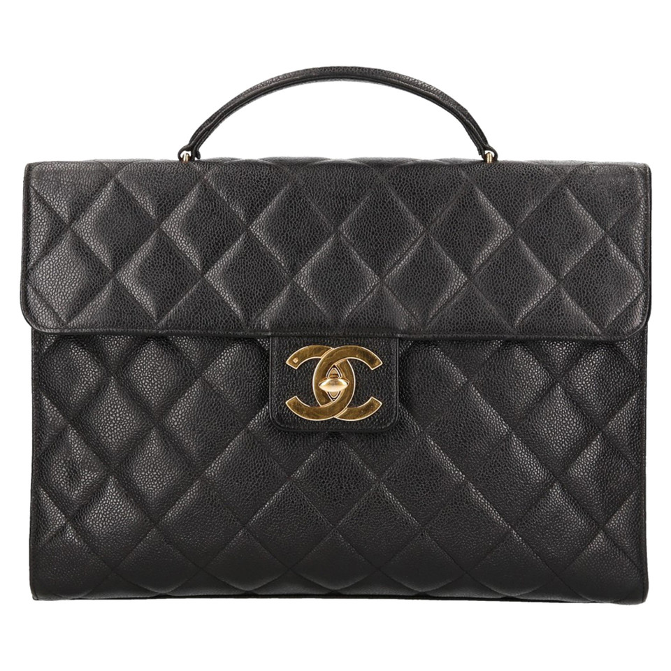chanel handtasche in schwarz second hand chanel handtasche in schwarz gebraucht kaufen f r 3. Black Bedroom Furniture Sets. Home Design Ideas